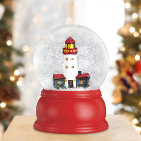 Lighthouse Snow Globe