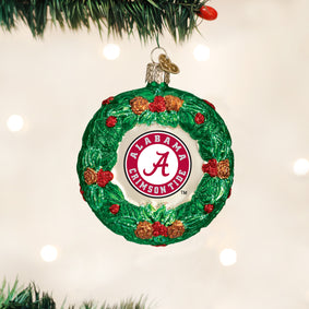 Alabama Wreath Ornament