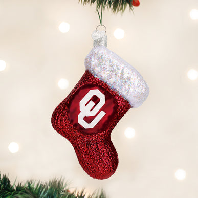 Oklahoma Stocking Ornament