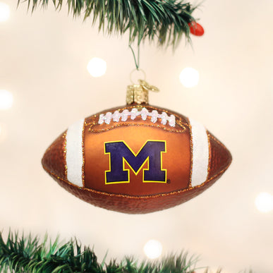 Michigan Football Ornament