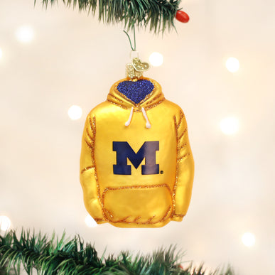 Michigan Hoodie Ornament