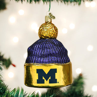 Michigan Beanie Ornament