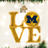 Michigan Love Ornament