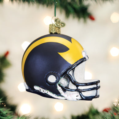 Michigan Helmet Ornament