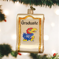 Kansas Diploma Ornament