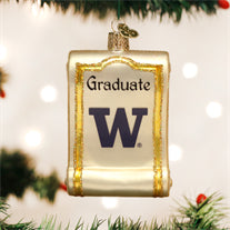 Washington Diploma Ornament