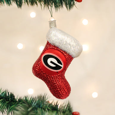 Georgia Stocking Ornament