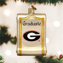 Georgia Diploma Ornament