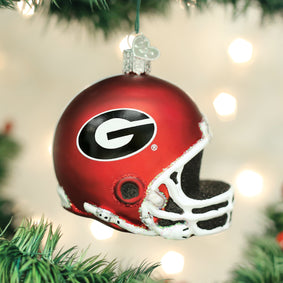 Georgia Helmet Ornament