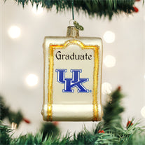 Kentucky Diploma Ornament