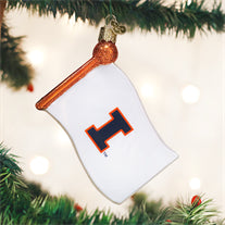 Illinois Flag Ornament