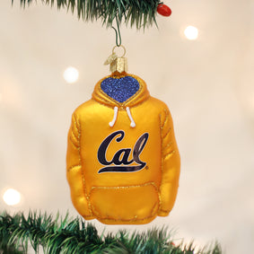 California Berkeley Hoodie Ornament