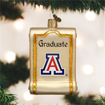 Arizona Diploma Ornament
