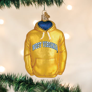 West Virginia Hoodie Ornament