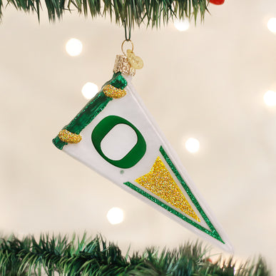 Oregon Pennant Ornament