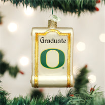 Oregon Diploma Ornament