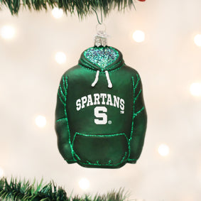 Michigan State Hoodie Ornament