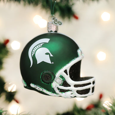 Michigan State Helmet Ornament