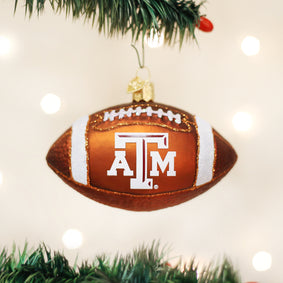 Texas A&M Football Ornament