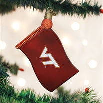 Virginia Tech Flag Ornament