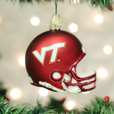 Virginia Tech Helmet Ornament