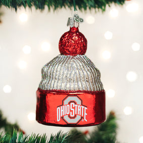 Ohio State Beanie Ornament