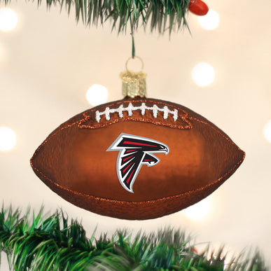 Atlanta Falcons Football Ornament
