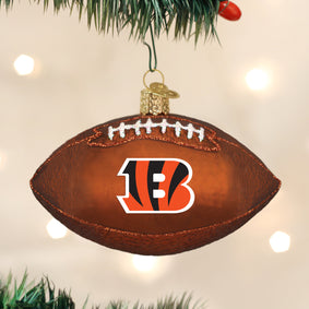 Cincinnati Bengals Football Ornament
