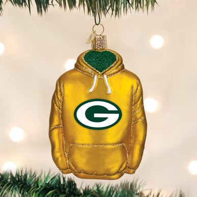 Green Bay Packers Hoodie Ornament