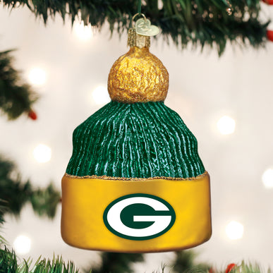 Green Bay Packers Beanie Ornament