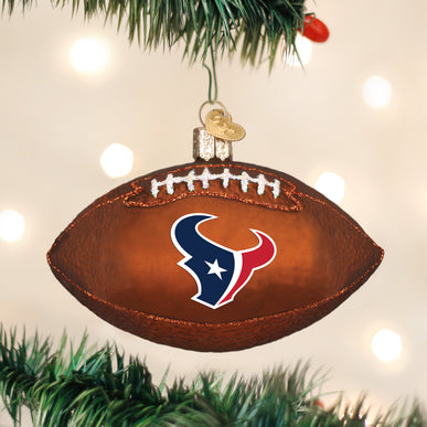 Houston Texans Football Ornament