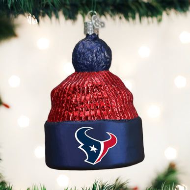 Houston Texans Beanie Ornament