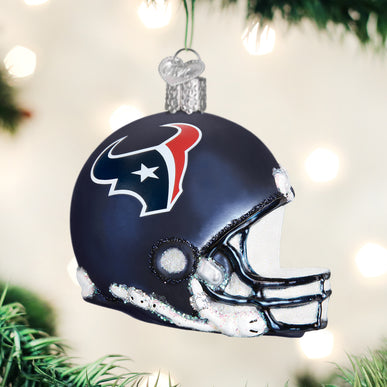 Houston Texans Helmet Ornament