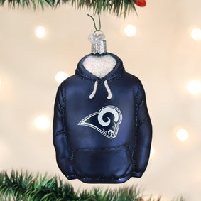 Los Angeles Rams Hoodie Ornament