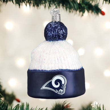 Los Angeles Rams Beanie Ornament