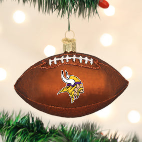 Minnesota Vikings Football Ornament