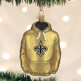 New Orleans Saints Hoodie Ornament