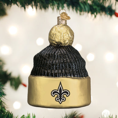 New Orleans Saints Beanie Ornament