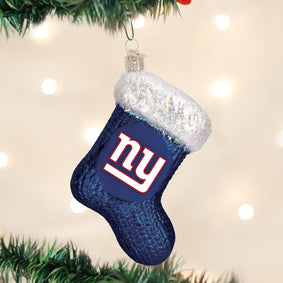 New York Giants Stocking Ornament