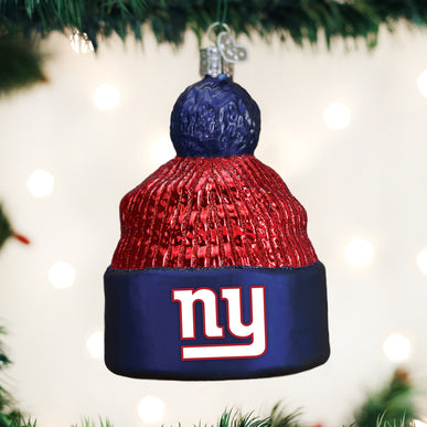 New York Giants Beanie Ornament