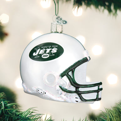 New York Jets Helmet Ornament