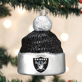 Las Vegas Raiders Beanie Ornament