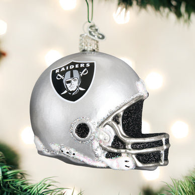 Las Vegas Raiders Helmet Ornament