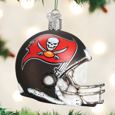 TB Buccaneers Helmet Ornament