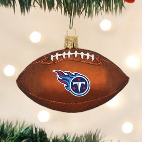 Tennessee Titans Football Ornament
