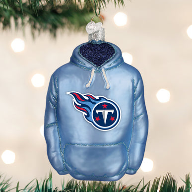 Tennessee Titans Hoodie Ornament