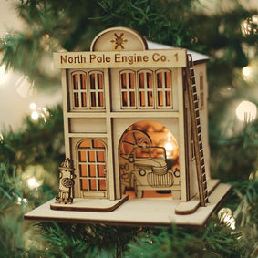 North Pole Engine Co. #1Firehouse-GC120