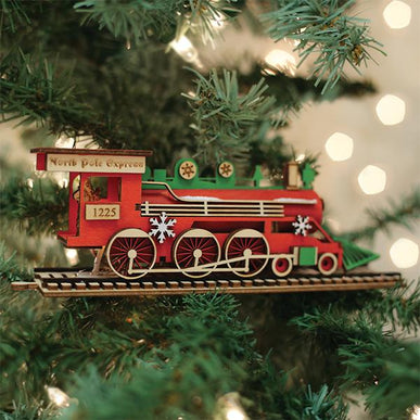 Santa's NP Express Engine-GC137
