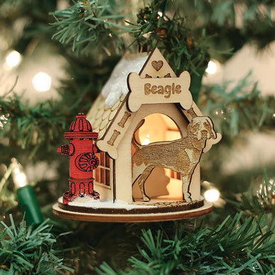 Beagle-K9101 Ornament