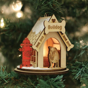 Bulldog-K9113 Ornament